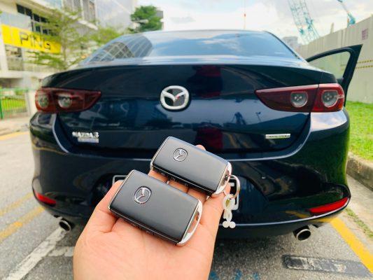 Mazda 3 smart key