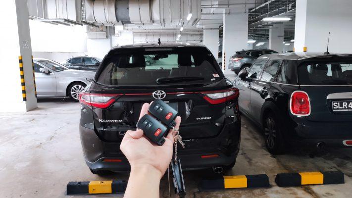Toyota Harrier key