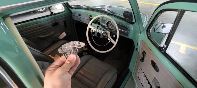 Vintage car key